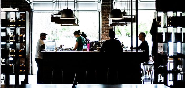Restaurant et clients