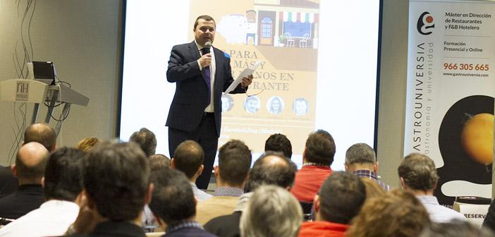 Óscar Carrión director de Gastrouniversia
