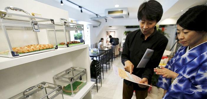 Snake Cafe: la cafetería de las serpientes en Tokio
