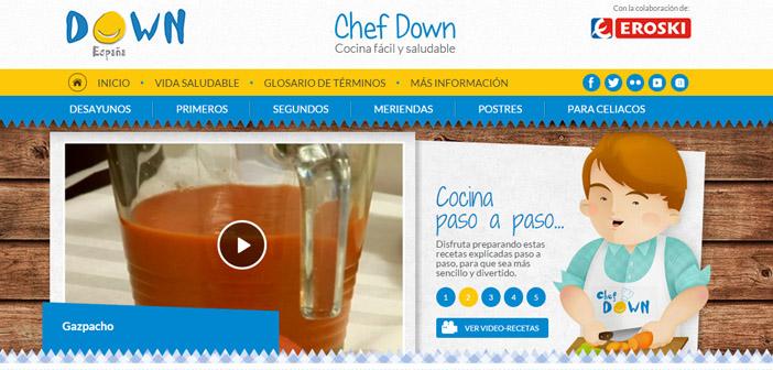 El primer canal online de cocina pensado específicamente para que los jóvenes con síndrome de Down preparen sus propios menús
