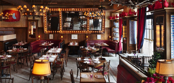 Dirty French is a bistro themed eighties