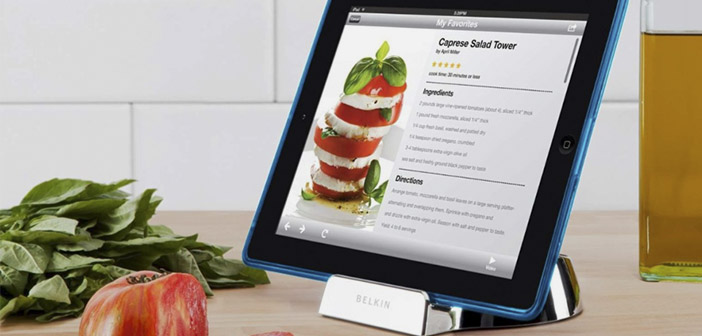 Kitchen gadgets for tablets
