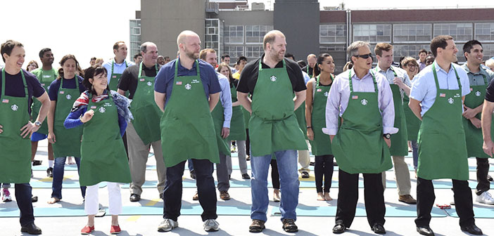 Starbucks se une al reto #GiveThem20