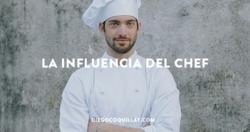 Demostrado- La comida sabe mejor si la presenta el chef del restaurante