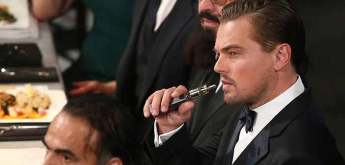 Di Caprio's whim of 'vaping' at the Oscars fizzles when the Academy decides to ban