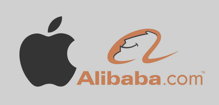 logos Apple et Alibaba
