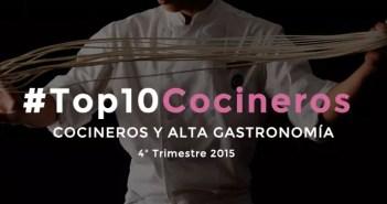 Los mejores cocineros de España en las redes sociales en 2015 [4T2015]