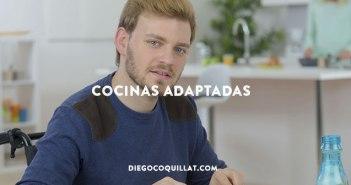 Cocinas adaptadas a usuarios en sillas de ruedas