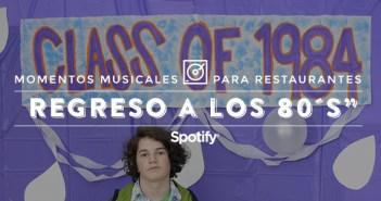 """Música para restaurantes: 50 canciones para una comunión """"Regreso a los 80´s"""""""