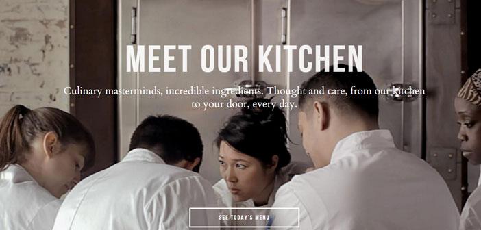 Maple es una aplicación de comida a domicilio que da servicio en el centro de Nueva York cambiando todos los días los menús y que organiza los pedidos en base a la distancia de cliente.