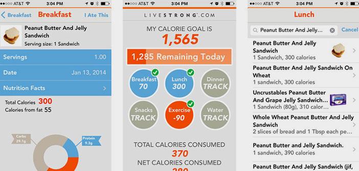 Consumo diario de calorias recomendadas