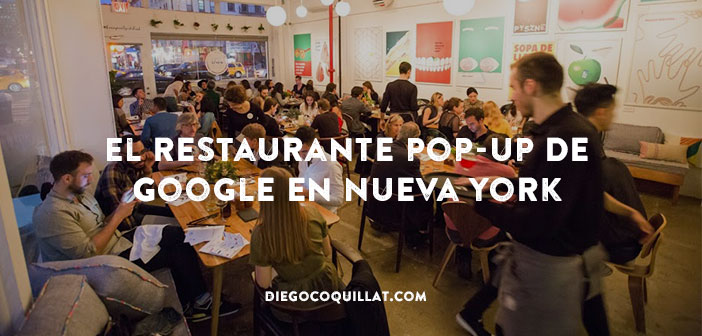 Small World: El restaurante pop-up de Google en Nueva York (Photography by Margarita Corporan)