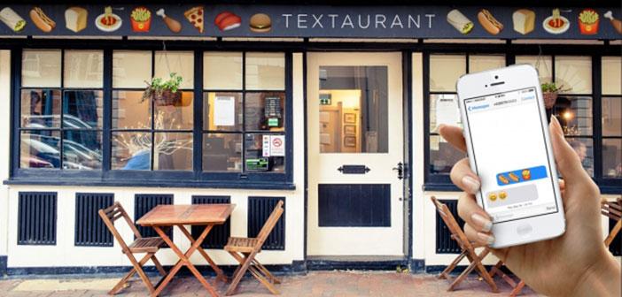 A été le premier restaurant dans le monde basé sur Emojis, en particulier, il était à Melbourne.
