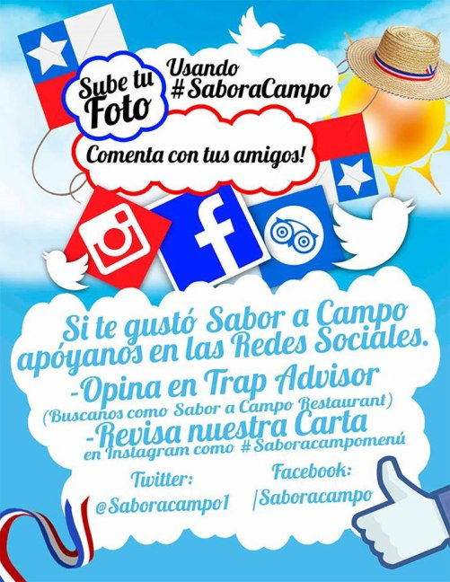 Brochure for social networks