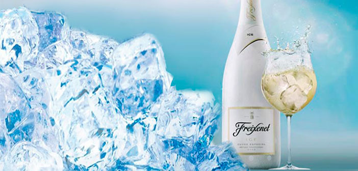 Now the cava can also enjoy ice, in glass ball, and you can even mix it with your own selection of seasonal fruits in the case of the recent ICE presented Freixenet.