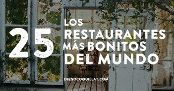 Los 25 restaurantes más bonitos del mundo