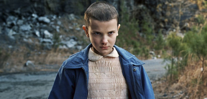 Eleven, the girl 'Stranger Things' series success Netflix season will be one of the most viral costumes this year on Halloween.