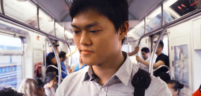 The young American student Robert Lee has been the first to create, with a group of friends, a non-profit organization that aims to harness the wasted food restaurants.