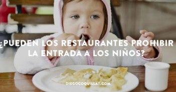Un restaurante incluye en sus menús infantiles normas de buen comportamiento