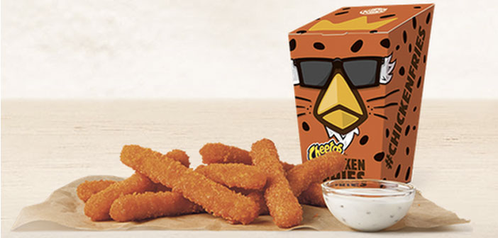 The latest creation of Burger King: Mac N'Cheetos