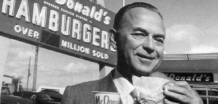 Ray Kroc, founder of McDonald's,