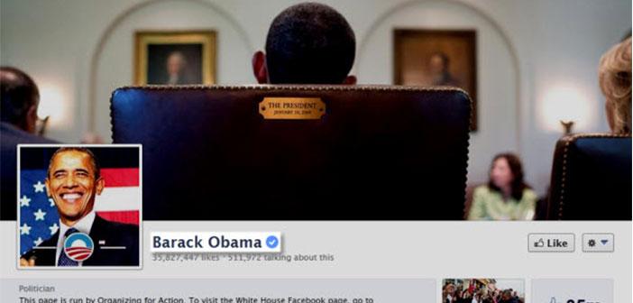 L'ancien président Barack Obama, la vérification a site officiel.