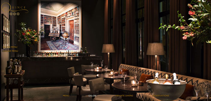 Quince Restaurant, an upscale restaurant located in the city of San Francisco, The US has surprised everyone with his latest creation: a dish served on a IPad.