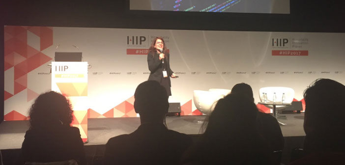 Elena Solera, Marketing Manager Commerce360, We have shown us how we can better manage our restaurant tables using data.