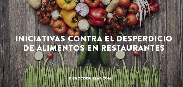 Iniciativas contra el desperdicio de alimentos en restaurantes