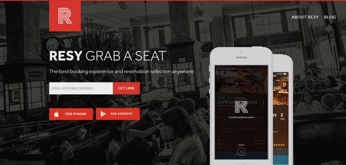Cette application est basée à New York et exploite actuellement 40 villes américaines se repose 1,5 millions de convives chaque mois dans les restaurants et l'objectif est de lancer selon une Airbnb première phase 20 villes américaines.