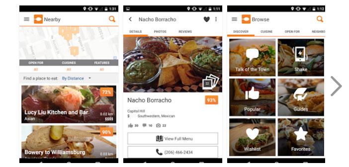 Cette application fonctionne en entrant dans la zone où nous sommes encore possible également spécifier le type de nourriture, le prix souhaité et le calendrier prévu, et elle sera responsable de faire un écran où vous regardez, sélectionner et nous conseiller sur les possibilités de restaurants.