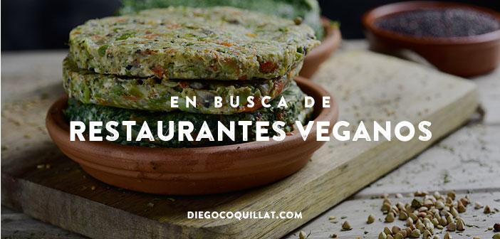 En busca de restaurantes veganos