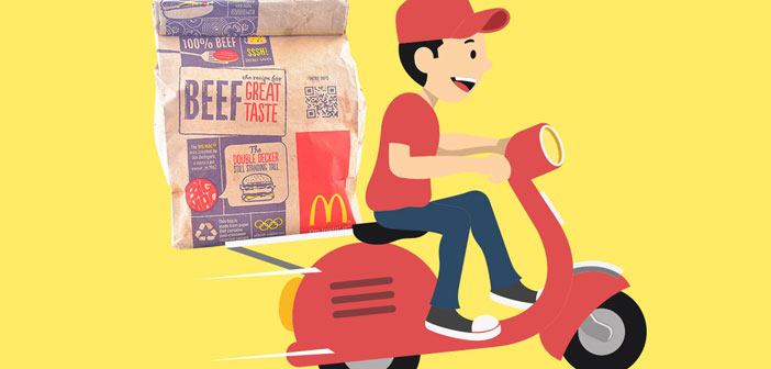 The deliveries will be one of the great bastions in the global growth of McDonald's as their managers say: & Quot; We are in a unique position to become the great world leader in distribution & quot;.