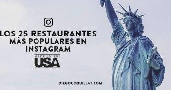 Los 25 restaurantes de USA más populares en Instagram