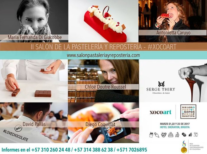 XocoArt, the II Salon and Pastry Chef Pastry held during the days 21, 22 Y 23 March at the Sheraton Hotel Street 26.
