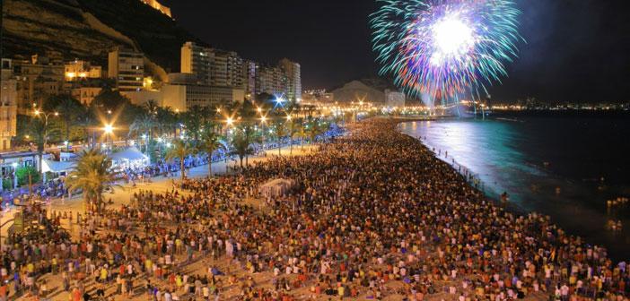 Il est une célébration de la présence des racines dans plusieurs régions d'Espagne. Dans ces domaines, l'hôtel lui-même a un mouvement parce que les gens qui viennent attirés par les célèbres feux de joie de San Juan sur 23.