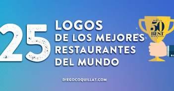 Los 25 logos de los mejores restaurantes del mundo
