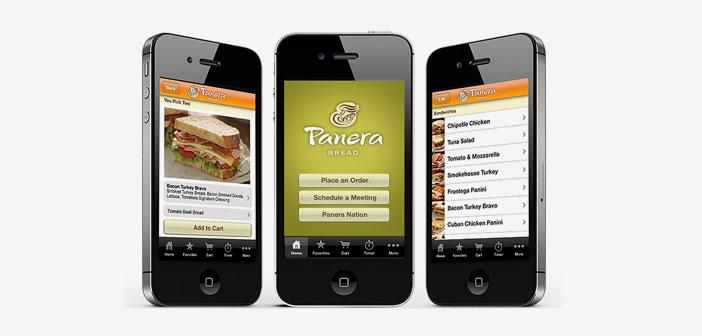 Panera Bread améliore leurs comptes grâce à des commandes numériques