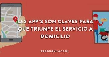 Las app's son claves para que triunfe el servicio de delivery de los restaurantes