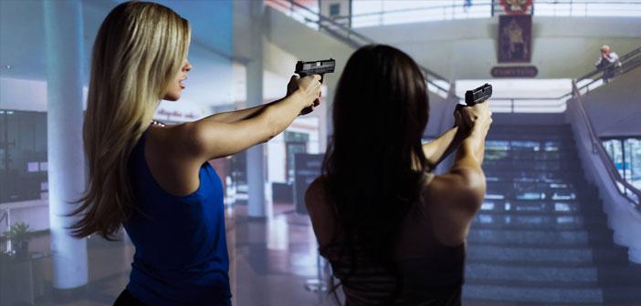 Ils peuvent choisir des jeux avec des scénarios militaires réalistes, ou des situations d'action de la police d'entrer dans les feux croisés en attendant des amuse-gueule.