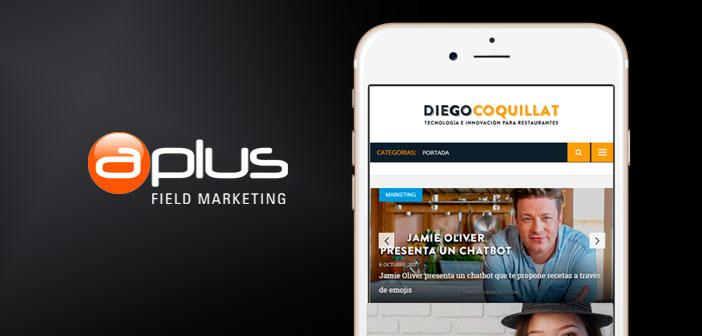 DiegoCoquillat.com y Aplus Gastromarketing unen sus fuerzas