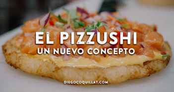 El Pizzushi revoluciona la tendencia en la comida híbrida