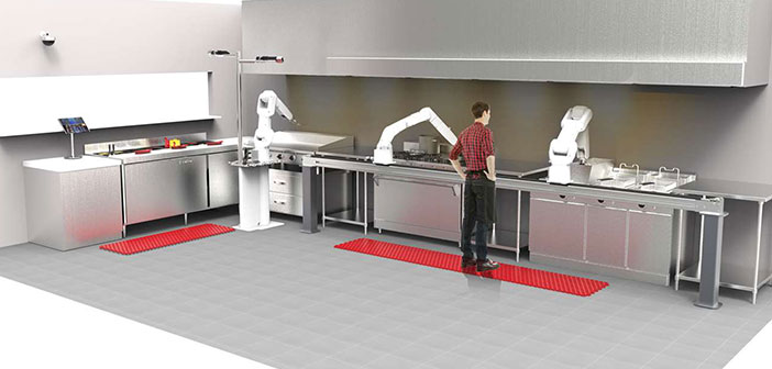 Flippy is the expert robot in serving burgers that are compromising the use of fastfood workers facing the next decade.