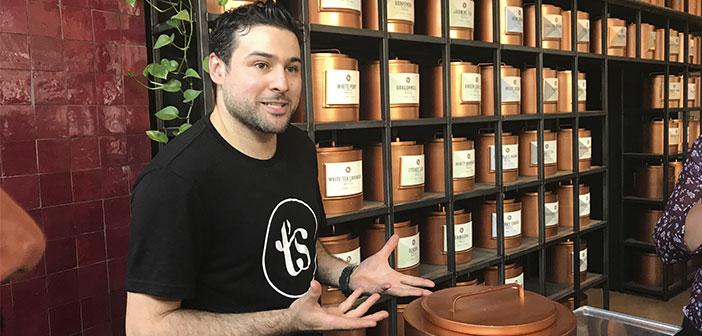 TS Thés: Store-bar spécialisé dans les thés avec plus de 60 différentes variétés de partout dans le monde et la plus haute qualité. à
