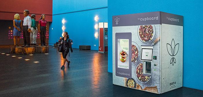 Si le simple fait qui ouvre un aliment Végétalis station mobile est pratiquement un événement spécial, les clients leCupboard ne pouvaient pas imaginer que la compagnie les surprendre avec une approche beaucoup plus technologiquement avancés.