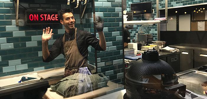 pêche: Ce restaurant propose des poissons de qualité de la pêche durable. Il est un pionnier aux Pays-Bas et offre une expérience théâtrale de ce produit.