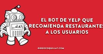El nuevo bot de Yelp que recomienda restaurantes a los usuarios
