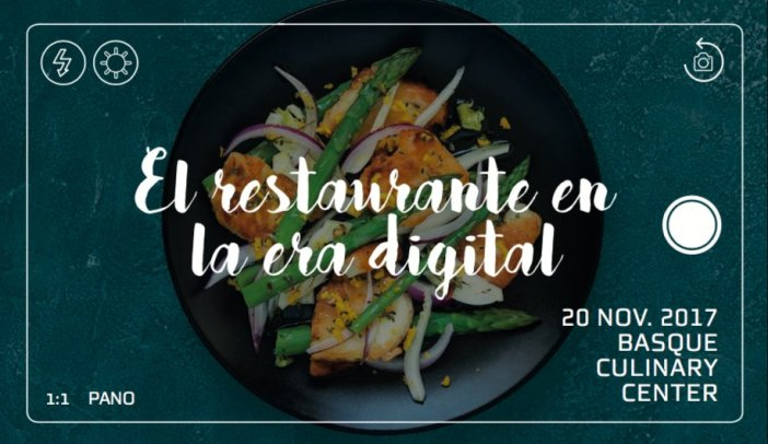 "Ferran Adriá and Diego restaurants Coquillat discuss the future at the conference ""The restaurant in the digital age"", which will be held at the premises of prestigious training center and gastronomic research Basque Culinary Center in San Sebastian."