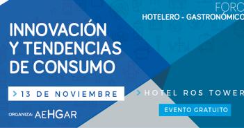 I Foro de Innovación y Tendencias de Consumo del Sector Hotelero Gastronómico