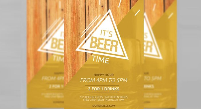 Beer-Time-Free-Flyer-Template